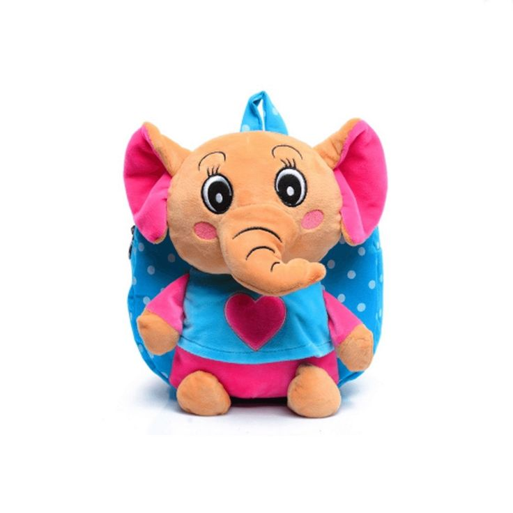 Children's Elephant School Bag
