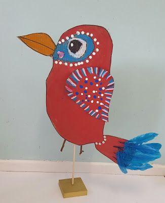 MaryMaking: Recycled Cardboard Birds