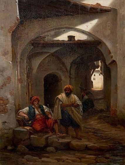 78 best images about peinture algerie on pinterest toile - Peinture satinee algerie ...