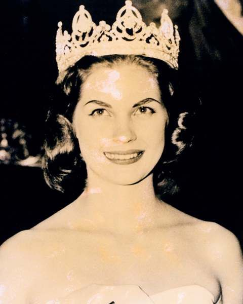 Miss World 1958: South Africa - Penelope Coelen