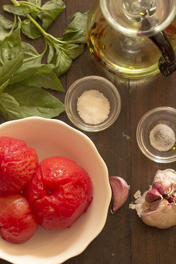 Cómo preparar salsa pomodoro. Receta italiana con Thermomix « Thermomix en el mundo