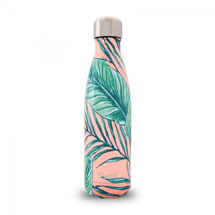 S'well® Palm Beach Water Bottle, 17 oz | Our new arrival makes a great Valentine gift for her! The beautiful design on this resort inspired bottle is uniquely one of a kind!