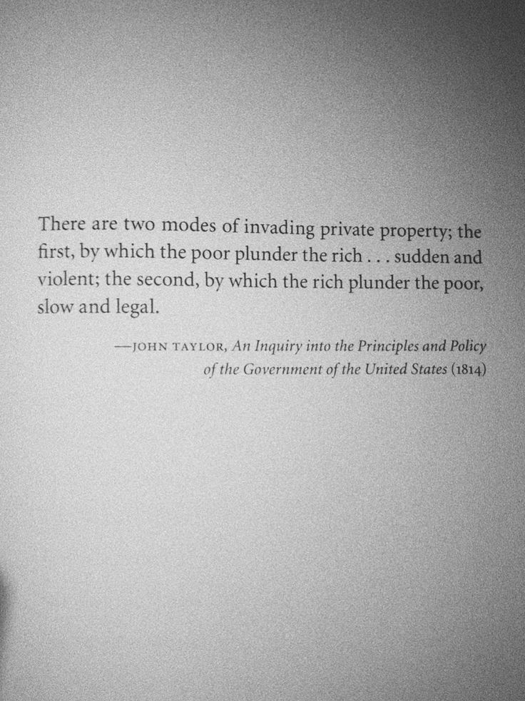 There Are Two Modes Of Invading Private Property