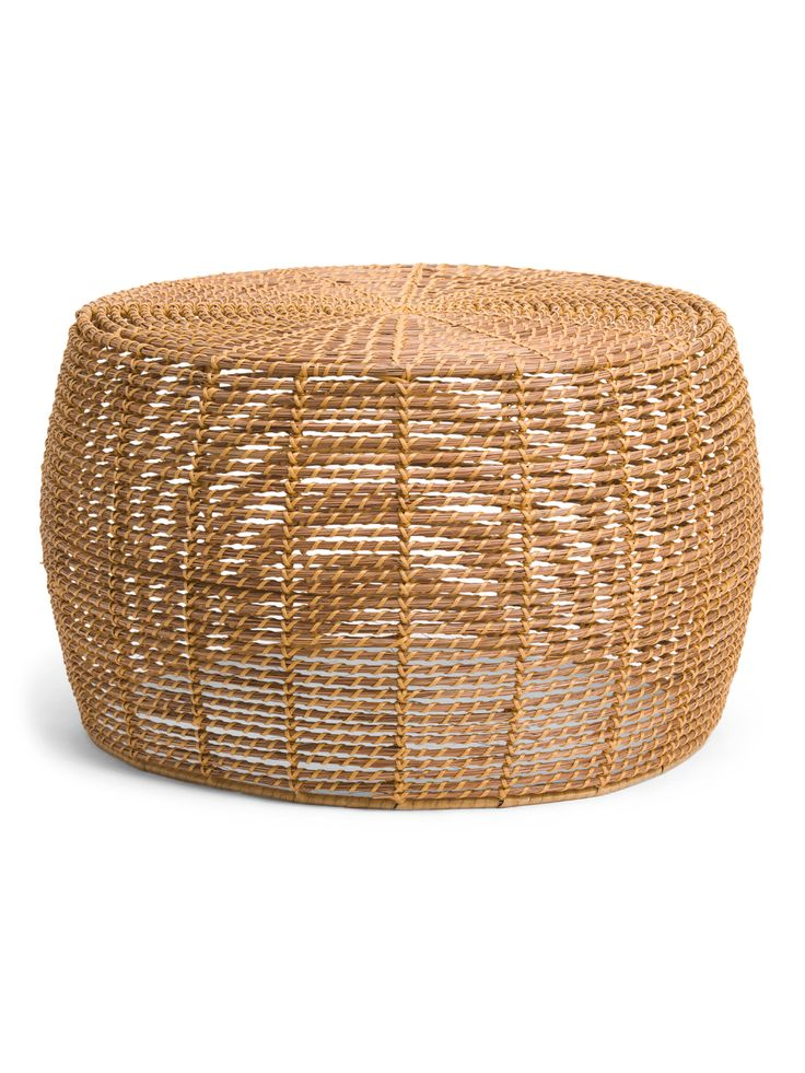 30in natural wicker coffee table living room tjmaxx
