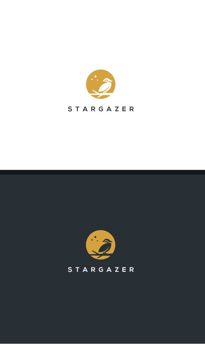 Dreaming owl logo for a stationary brand   CityX @ 99designs