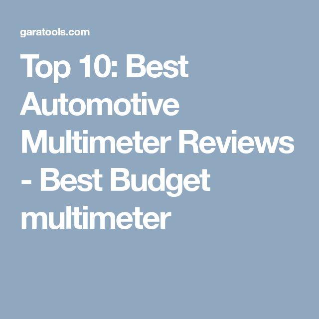 15 best Best Multimeter images on Pinterest | Budgeting, Consumer ...