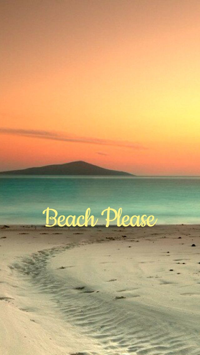 Download Beach Please Summer IPhone 5 Wallpaper