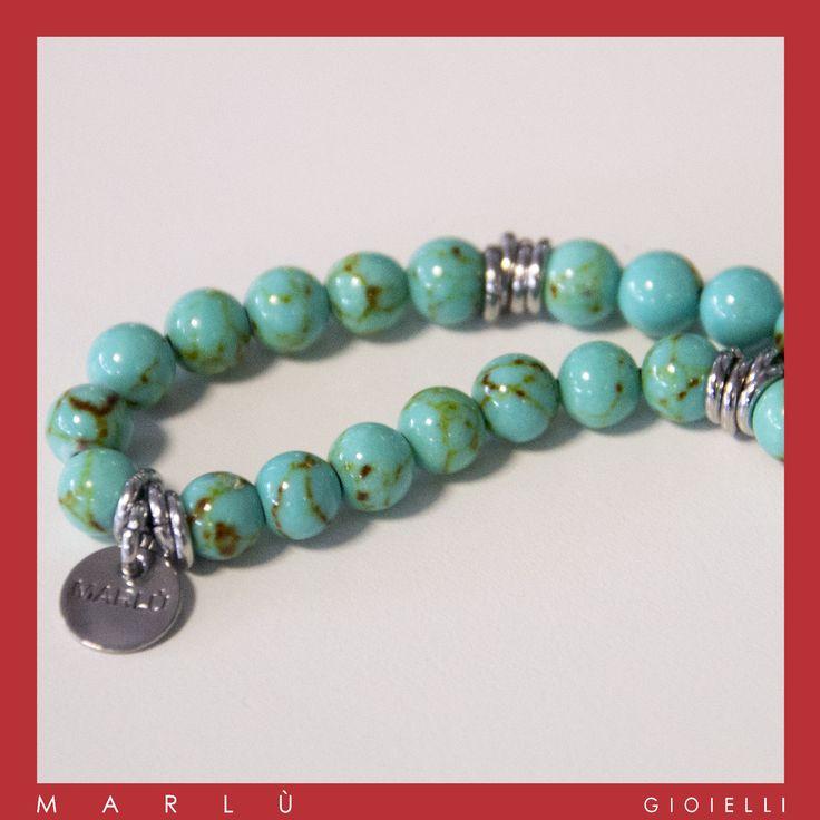 Bracciale in acciaio con pietre in aulite della collezione #ManTrendy. Stainless steel bracelet with aulite. #ManTrendy collection