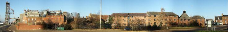 Street Scene along Millfleet, King's Lynn. Norfolk. 2006