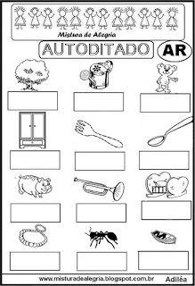 Autoditado para alfabetização com ar