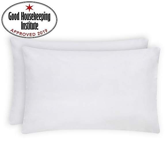 Non Iron Plain Dye White Housewife Pillowcase Pair Pillow Cases