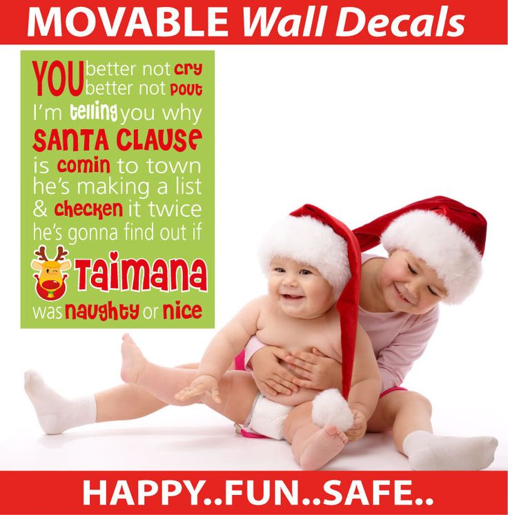 Smartwalling - Wall Stickers - Personalised Christmas Scroll Wall Sticker - TOTALLY MOVABLE, $9.95 (http://www.smartwalling.com.au/personalised-christmas-scroll-wall-sticker-totally-movable/)