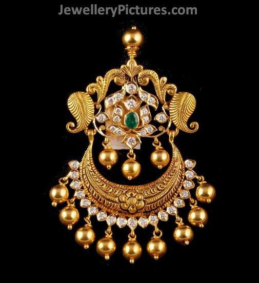 Antique Pendants - Page 2 of 4 Latest Indian Jewelry - Jewellery Designs