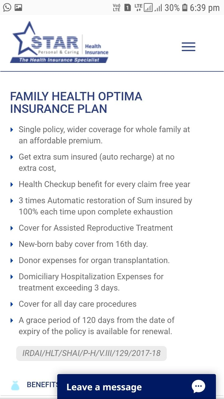 Starhealth Insurance Hyderabad 9912359818 Family Health
