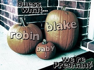 How we announced we were pregnant