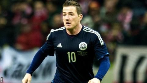 Scotland call up Ross McCormack & Paul Caddis for Czech friendly