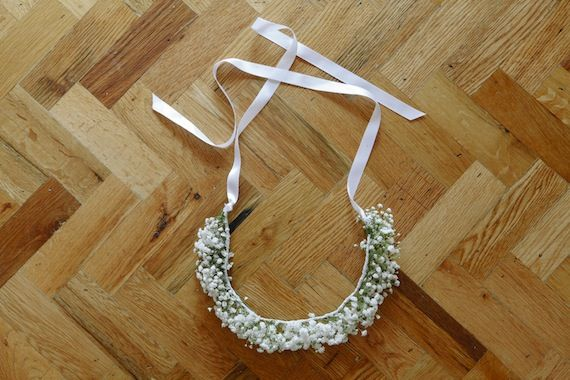 diy floral crown on minted.com/julep today.