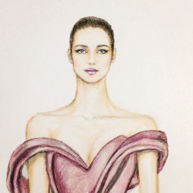 Ralph & Russo Couture Fall 2017 collection @ralphandrusso @tamararalph 💖(@prismacolor pencils and @copicmarker @fabercastellglobal pitt artist pens on @xpress_it blending card) #handdrawn #sketch #ralphandrusso #couture #sketching #illustration #bridesmaid #иллюстрация #hautecouture #art #worldofartists #luxury #draping #silk #gown #dress #платье #event #wedding #nataliazorinliu #artist #illustrator #copicmarkers #fabercastellpitt #fashionista #clutch #follow #instafashion #model #pencils