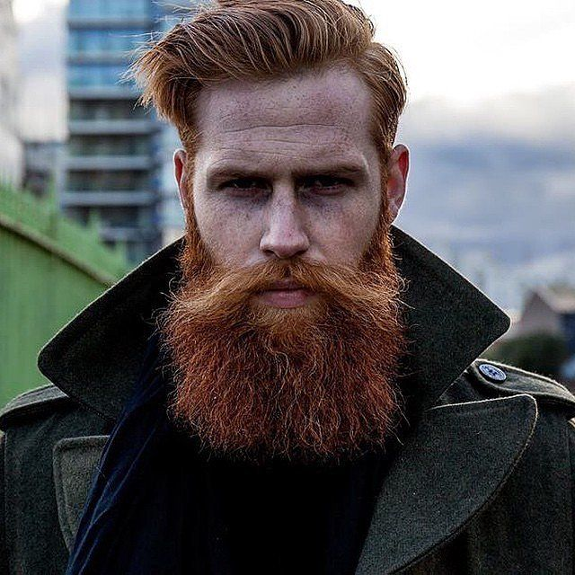 Rugged redhead