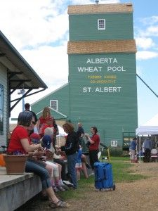 St. Albert's Grain Elevator Park & Train Station is a historical heritage site where visitors can take a guided tour with interpreters of two of Alberta's provincially designated grain elevators, the 1906 Brackman Ker Elevator and 1929 Alberta Wheat Pool Elevator. Complete the experience with a visit to the 1920′s replica Train Station where you can see how the station agents lived.  Fully resorted in 2011, the Grain Elevators offer a unique glimpse of Canada's grain trade.