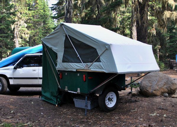 explorer box mobile diy tent camper easy set up 09   DIY Tent Campers You Can Build on a Tiny Trailer