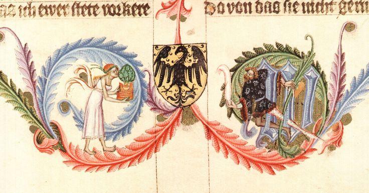 Bible Václava IV, konec 14. století.