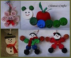 Bottle caps crafts ideas