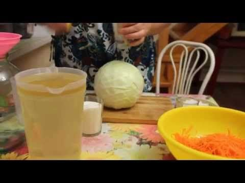 Рецепт капусты - скороспелки.