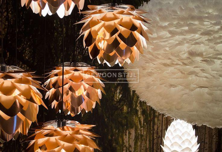 Silvia hanglamp mini copper koper | Polypropyleen | VITA | Gewoonstijl | www.gewoonstijl.nl