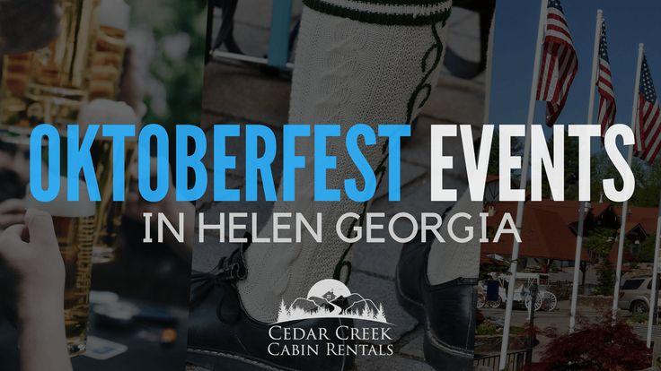 Helen Georgia Oktoberfest 2019: Schedule of Events