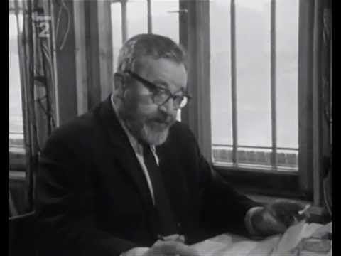 Jan Werich - Přiložte životopis část 1 (1968)