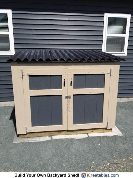 Garage Enclosure Plans : Generator shed plans enclosure pinterest