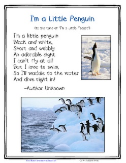 I'm a Little Penguin Song - would be a great song to make felts for :)