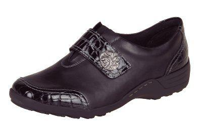 Remonte Dorndorf d051221 Button Black/Patent