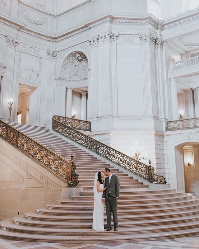 City Hall Is Busy And Chances Are If You Go There To Get Married You Won T Be The Onl City Hall Wedding Photos Getting Married City Hall Wedding