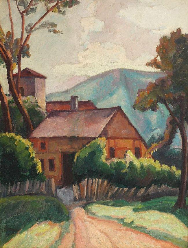 Camil Ressu (28 ianuarie 1880 -1 aprilie 1962), pictor român