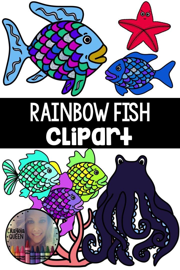 Rainbow Fish Clipart Rainbow Fish Fish Clipart Rainbow