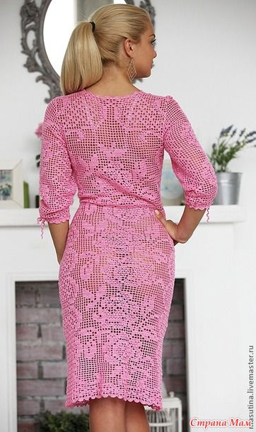 Доброго всем дня!!!  Открываем он-лайн по вязанию платья или кофточки в филейной технике. Опрос проходил здесь http://www.stranamam.ru/