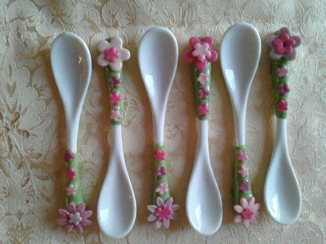 porcellana fredda cucchiaini