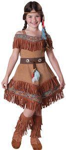 Indian Maiden Pocahontas Sacagawea Child Costume Kid Movie Theme Party Halloween | eBay