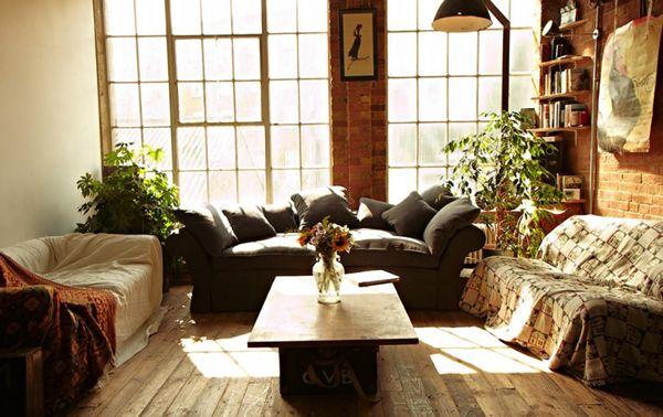 Exposed Bricks, Bricks Wall, Eating House, Interiors Design, Living Room, Eating Places, Loft Spaces, Expo Bricks, Design Blog