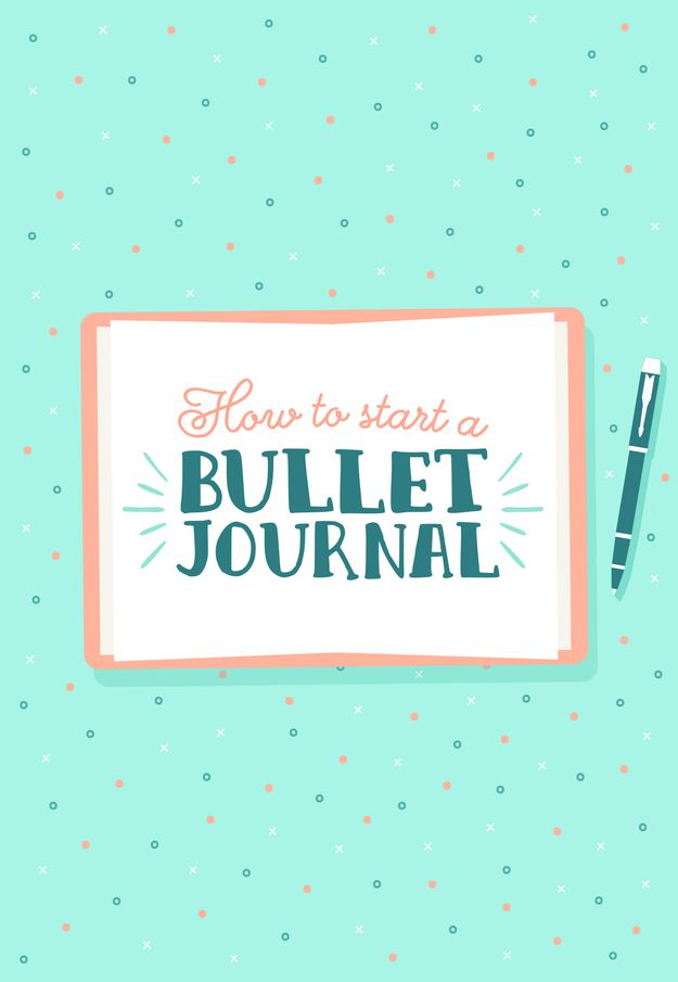How To Start A Bullet Journal, AKA A Diary & Planner For Grown-Ass Adults
