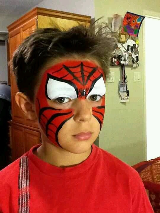 Spider-Man face