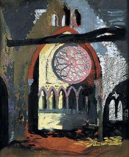 John Piper, Redland Park Congregational Church, Bristol, Pallant House Gallery, Chichester