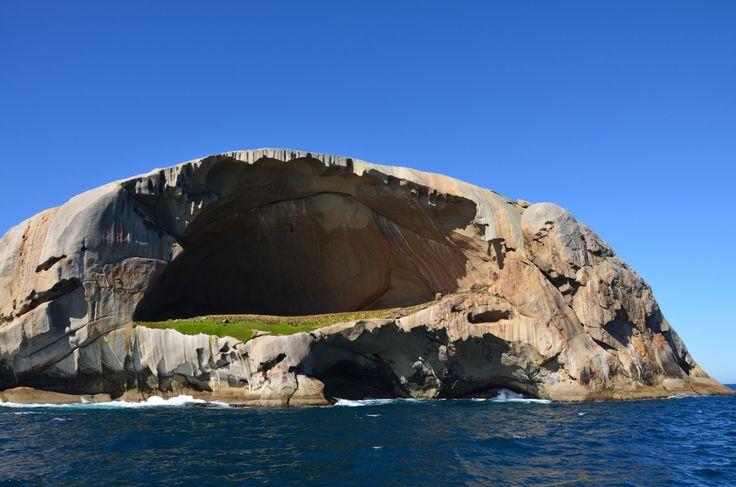 Cleft Island Skull Rock, Wilsons Promontory National Park, Australia.