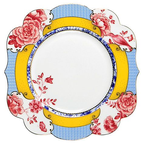 PiP Studio Royal Dessert Plate, Dia.23.5cm Buy PiP Studio Royal Dessert Plate, Dia.23.5cm Online at johnlewis.com Larger view Product information  PiP Studio is a lifestyle brand created by Dutch interior designer Anke Van der Endt. Each piece is hand-crafted with exquisite detail and designed to be mixed and matched with different prints in the range for an eclectic collection. Brand PiP Studio Collection Royal Country of Origin China Dimensions Dia.23.5cm Dishwasher Safe NO Material…