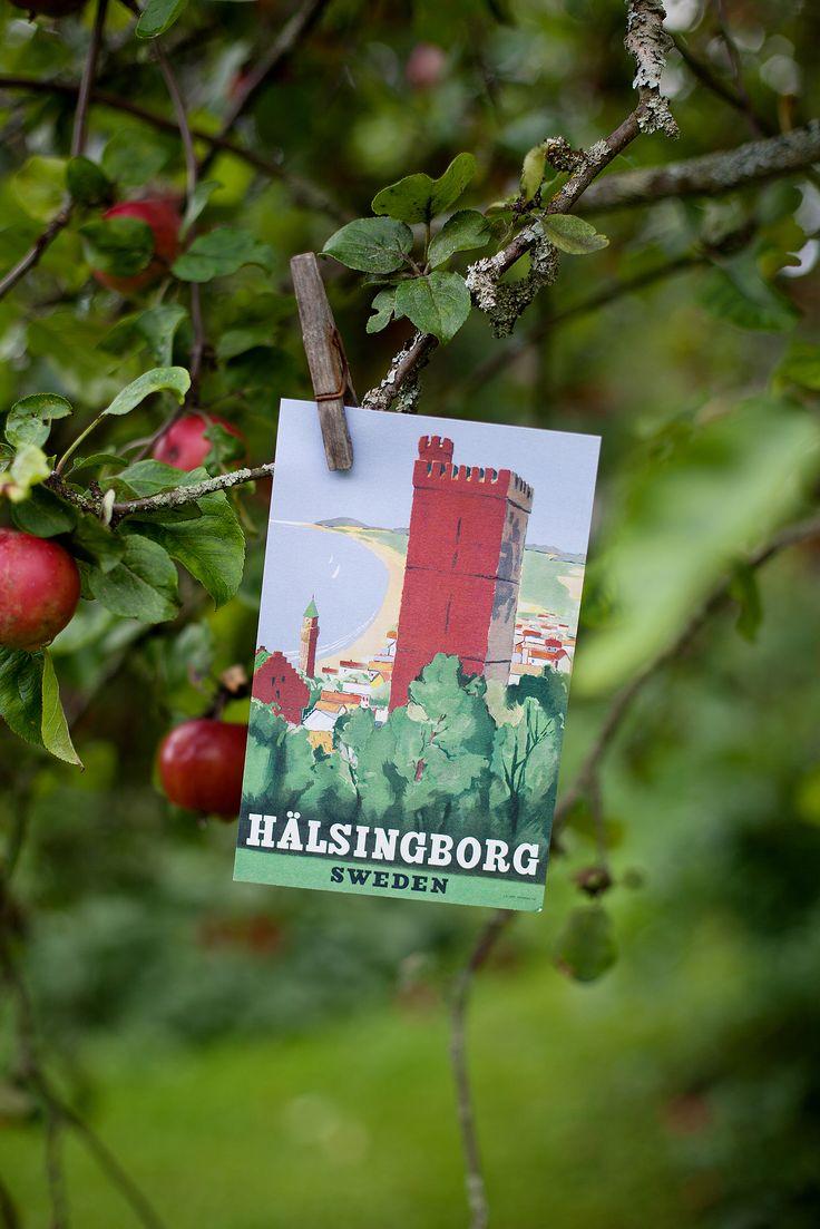 Hälsingborg - Kärnan. Design by Gunnar Christensson