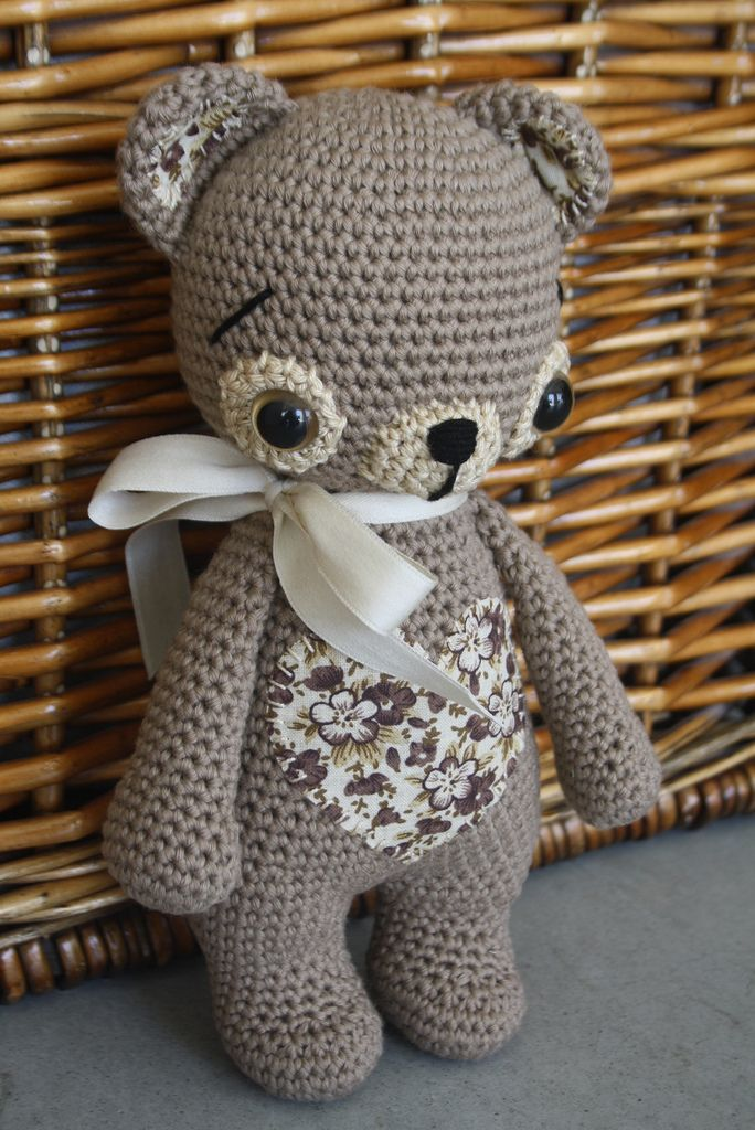 100% natural teddy bear made from organic cotton and stuffed with lambswool | Flickr - Photo Sharing!