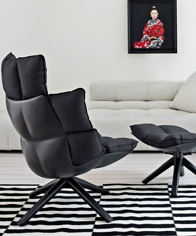 HUSK | Armchair by B&B Italia | #design Patricia Urquiola @bebitalia