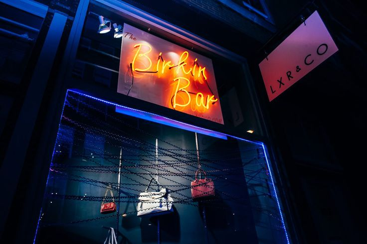 Soho's Best Kept Secret Is LXR & Co.'s Vintage Hermès Birkin Bar